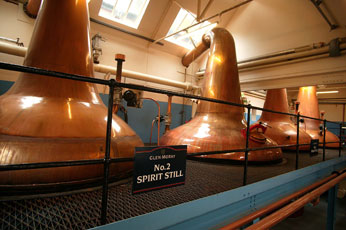 Still room at Glen Moray Distillery