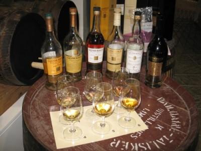 Glenmorangie tasting line-up