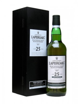New Laphroaig 25yo Cask Strength - Yummy