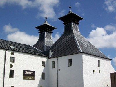 Ardbeg Distillery. It was a beautiful day for a change