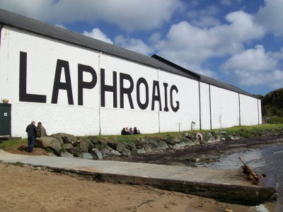 Laphroaig looking rather lovely
