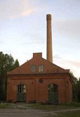 Box distillery building