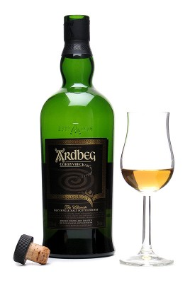 Ardbeg Corryvreckan - not ideal under headgear