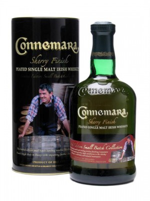The overall winner on the night: Connemara Sherry Finish