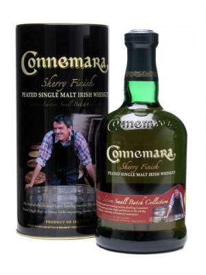The overall winner on the night: Connemara Sherry Finish