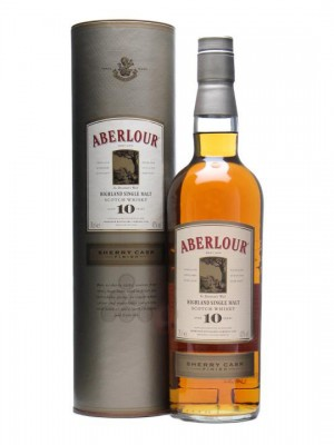 The rather scrummy Aberlour 10yo Sherry Finish