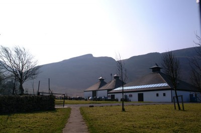 The compact, picturesque Arran distillery