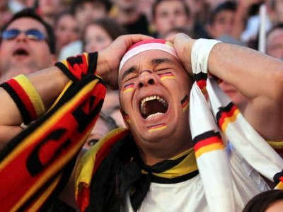 A gutted German whisky fan, today.