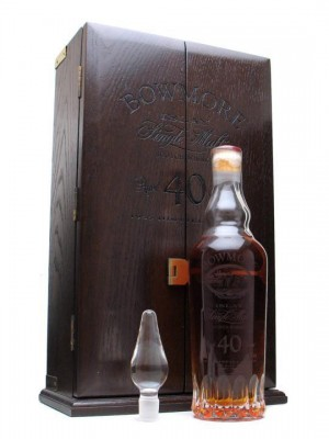 The trail-blazing Bowmore 1955 40yo