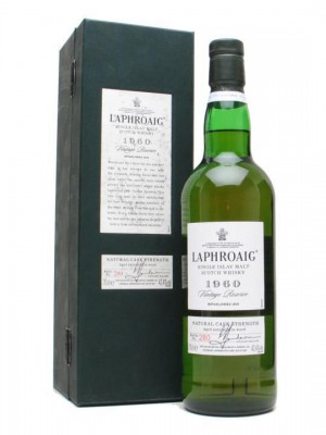 The limited edition Laphroaig 1960 for Oddbins