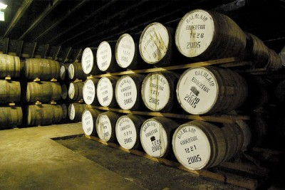 Some casks, having a rest