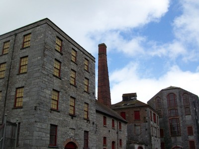 The old distillery buildings at Midleton