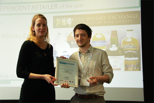 Chris Bolton picks up TWE's Independent Retailer of the Year gong