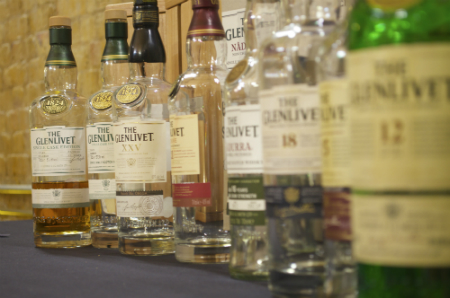 The Glenlivet Lineup