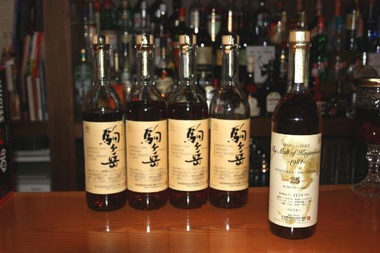 Mars Shinshu and Kagoshima malts at Bar High Five