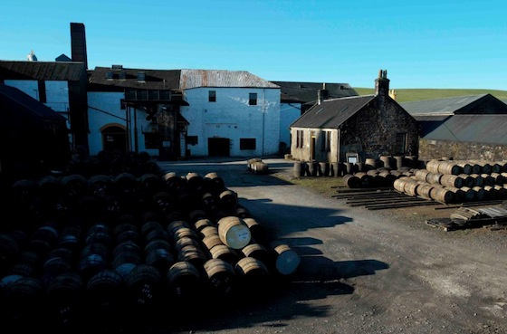 Springbank - a distillery in the heart of bustling Campbeltown...