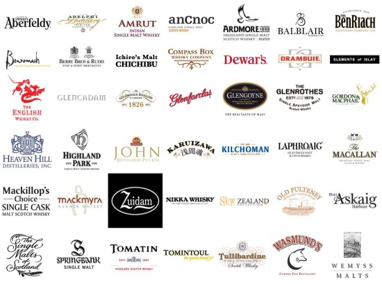 TWE Whisky Show 2013 Exhibitors so far...