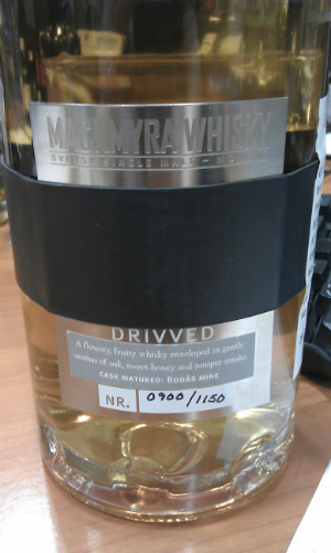Mackmyra Drivved