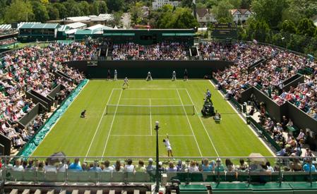 Nice weather at Wimbledon. It could happen.