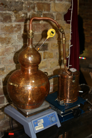 Balvenie's very cool mini-still