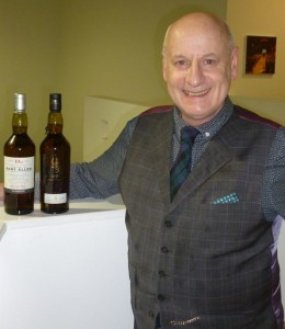 Colin with the Port Ellen and Lagavulin