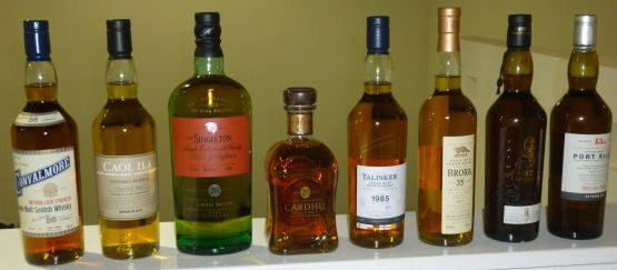 Diageo Special Releases 2013 Tasting
