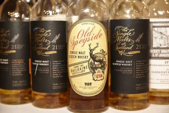 Some of last year's show bottlings
