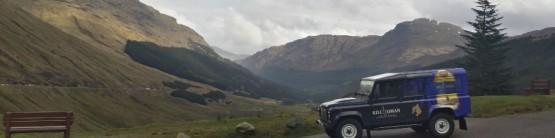 Kilchoman Land Rover