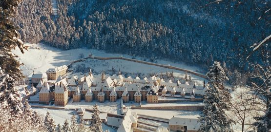 Chartreuse Monastery in the Snow