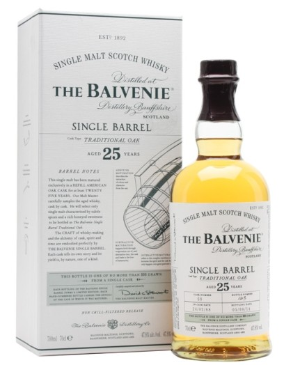 Balvenie 25 Single Barrel
