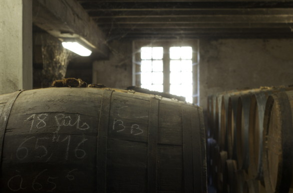 Quietly maturing their Cognac, in the traditional manner