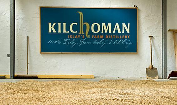Kilchoman floor