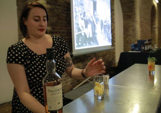 Talisker cocktail