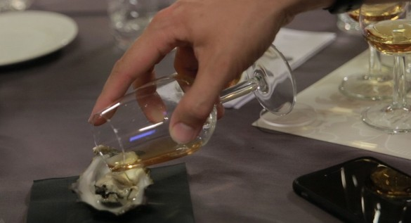 Whisky oyster