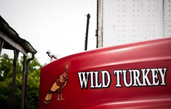 Wild Turkey truck