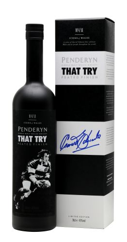 Penderyn That Try signed