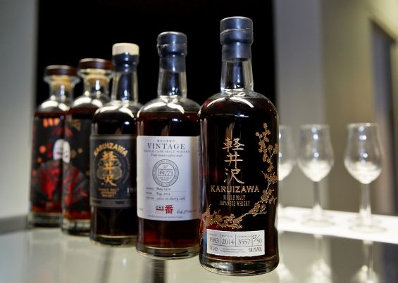 Karuizawa Whisky Exchange Whisky Show Masterclass