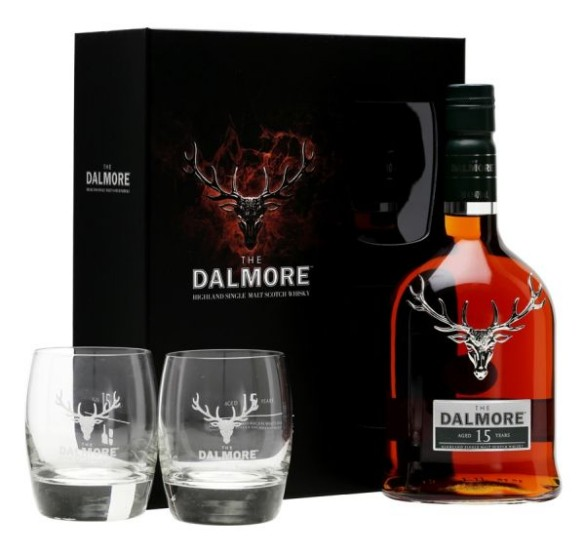 Dalmore 15 Glass Pack