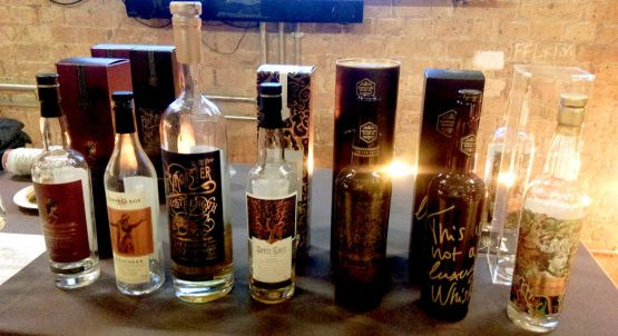 Compass Box tasting line-up