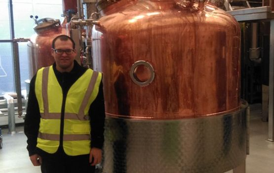 Linie Aquavit is made in a pot still at Arcus' distillery near Oslo