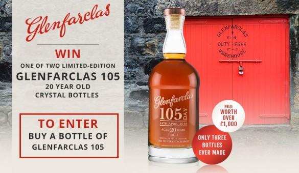 Glenfarclas 105 Prize Draw