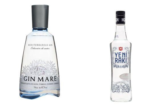 Gin Mare v Yeni Raki