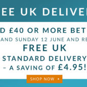 Free UK Delivery!