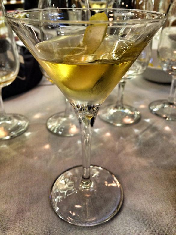 Vermouth-focused Martini