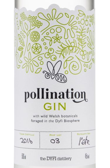 Pollination Gin bottle