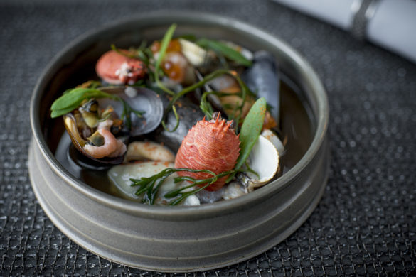 Shellfish Rockpool/The Kitchin