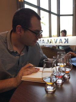 Blind tasting Kavalan