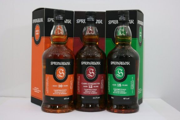 Springbank's latest packaging