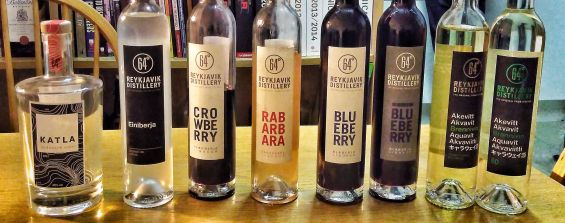 Reykjavik Distillery range