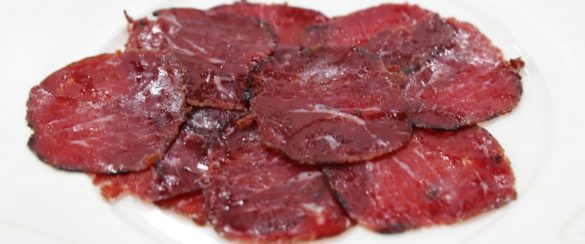 Bresaola - cured beef